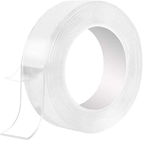 Nano Magic Double Sided Tape Washable Adhesive Invisible 3M 10Ft or 5M 16.5 Ft