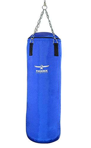 Phoenix Boxsack Gefüllt Nylon Blau 100cm