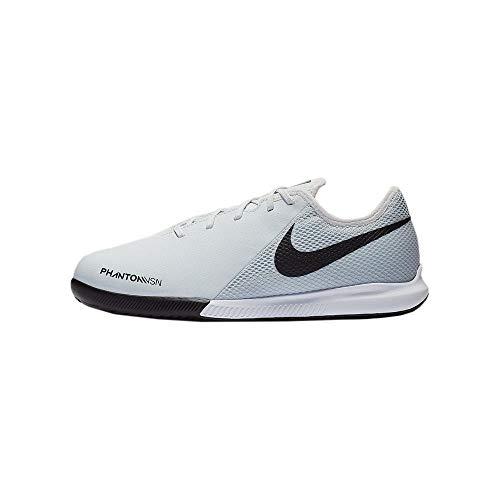 Nike Jr Phantom Vsn Academy IC, Zapatillas de fútbol Sala Unisex niño, Multicolor (Pure Platinum/Black/Lt Crimson/White 060), 33 EU
