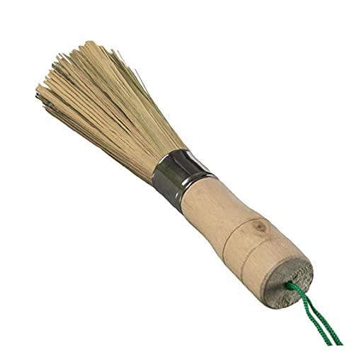 Ruluti Wok Cepillo Limpieza Batidor Batillo Pincel Limpieza Brocha Bambú Cocina Limpieza Herramientas