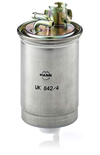 Original MANN-FILTER Kraftstofffilter WK 842/4 – Für PKW, LKW, Busse und Nutzfahrzeuge