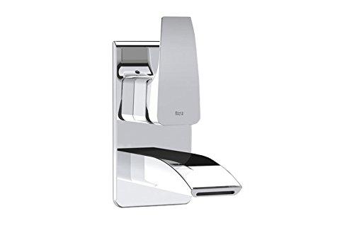 Roca Thesis - grifo monomando empotrable para lavabo con limitador de caudal a 8l/min . Griferías hidrosanitarias Monomando. Ref. A5A4550C00