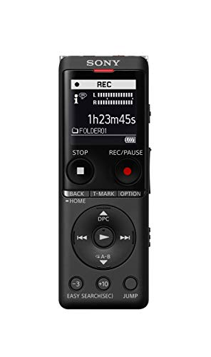 Sony ICD-UX570 Digital Voice Recorder, ICDUX570BLK Indiana