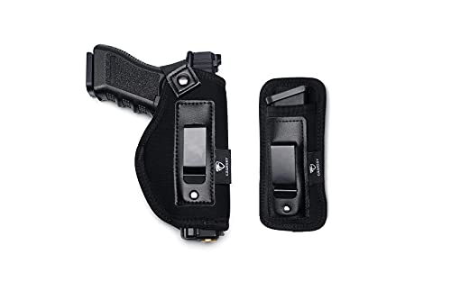 Cranssy 2 Pack IWB Gun Holster for Concealed Carrying...
