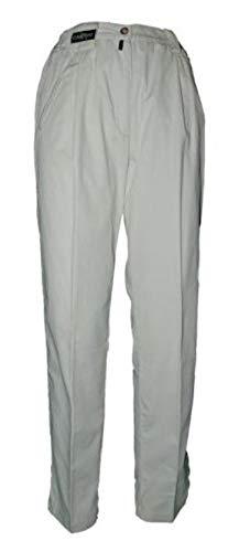 Chervo Svezia–Pantalón Senta, Mujer, Talla 34–36(D), Color Beige