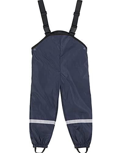 HKLY Pantalones de lluvia para niños impermeables a prueba de viento y cemento pantalones de lluvia para niños y niñas mono a prueba de fugas impermeable al aire libre