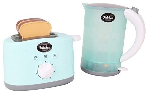 Toyland® Mein 1. Wasserkocher & Toaster mit Licht & Ton - Kitchen Play Toy