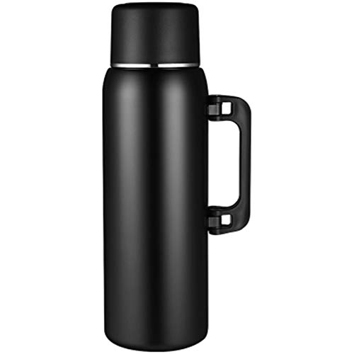 CHENSHUNLI Capacidad Grande 304 Acero Inoxidable Masculino Té Separación de Agua Taza de té Al Aire Libre Portátil Deportes Deportes Botella de Agua 2L Botella de Agua de Gimnasio