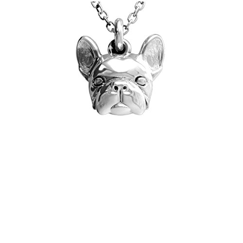 Pendientes de plata 925 % – Perro French Bulldog – Boulldogue Francés