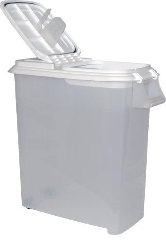 Buddeez 12-1/2-Gallon Roll-Away Pet Food Dispenser