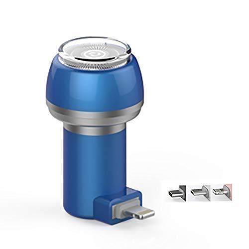 HJYPTXD Maquinilla de Afeitar Eléctrica, Mini Teléfono Afeitadora Eléctrica,No Hay Necesidad de...