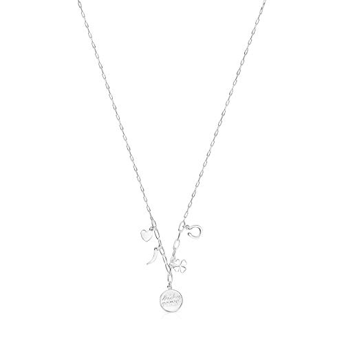 TOUS Collar Good Vibes Mama Charms de Plata