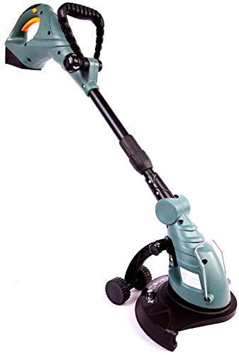WUAZ Recargable cortadora de césped, 18 V de Litio sin Cable Extensible...