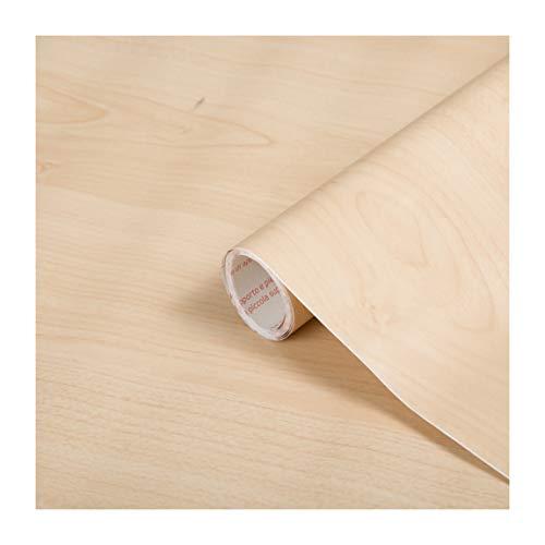 d-c-fix Klebefolie mit Weißholz-Maserung, selbstklebend, Vinyl, 67cm x 2m, 346-8219