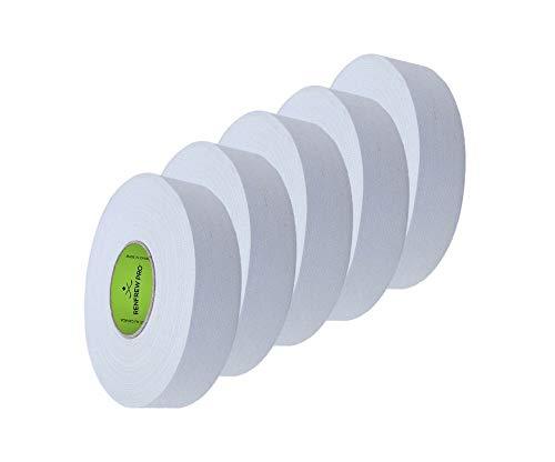 5X Renfrew Schlägertape Pro Balde Cloth Tape weiß 24mm f. Eishockey, je 25m