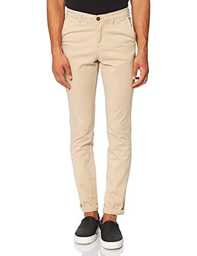 JACK & JONES JJIMARCO JJBOWIE SA STS Pantalon Homme, Beige (White Pepper), 33W x 32L