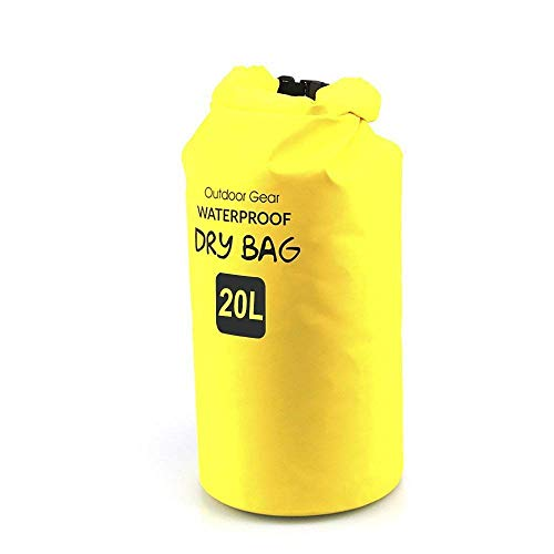 Mr. Garden Floating Bags Yellow Waterproof Dray Bag for...