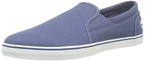 Timberland Skape Park Slip-on, Sneakers Basse Uomo, Azul Dark Blue Canvas, 44.5 EU