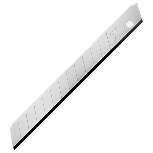 NT Cutter 9mm Snap-Off Blades, 50-Blade/Pack, 1 Pack (BA-50P)