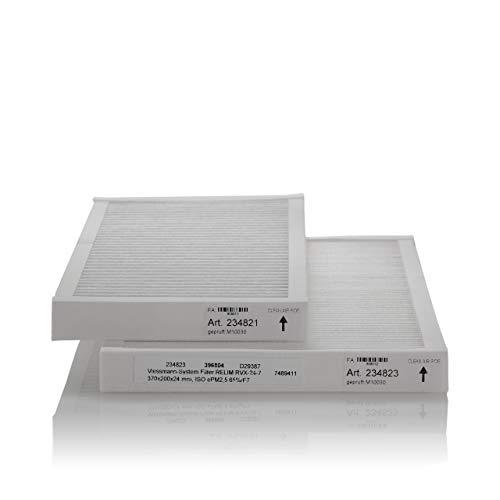 Preisvergleich Produktbild Viessmann Feinfiltersatz F7 / G4 Ersatzfilter Filtereinsatz Luftfilter für Vitovent 300-F 7502467