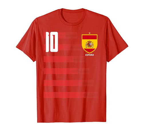 Espana Spanien Futbol Trikot Trikot Trikot T-Shirt