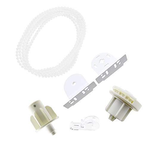 BIYM - Piezas de Repuesto para Tubos de Soporte de Estor, 38 mm, Soportes
