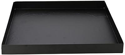 "Fallen Fruits Ltd FF120 Square Base Plate, Black, 12.5"" L by Fallen Fruits"