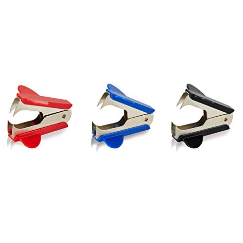 Staple Remover Staple Puller Removal Tool ,Easy to Carry,Pinch Jaw Style for Office School