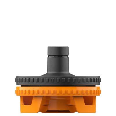 Storz und Bickel Zubehör für Vaporizer | Füllkammergehäuse für Volcano Hybrid / -Medic mit Easy Valve und Medic Valve | Filling Chamber Housing| Kunststoff | von bong-discount