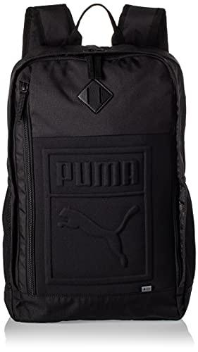 PUMA S Backpack Rucksack, Black, OSFA