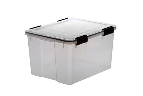 The Ultimate Garage & Shed Weatherproof Storage Container Box 44 Litre