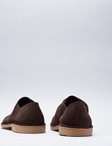 FIND Herren Derby Schuhe aus Wildleder, Braun (Chocolate) - 5
