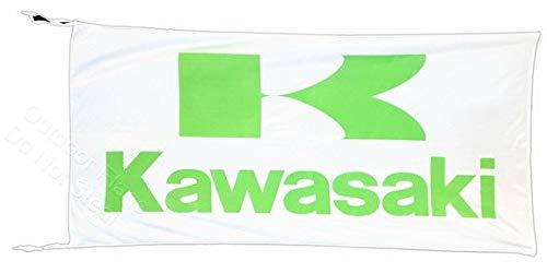 Cyn Flags Kawasaki Fahne Flagge 2.5x5 ft 150 x 75 cm