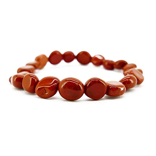 Red Jasper Bracelet with Minerals and Crystals, Energy Beauty, Meditation, Spiritual Amulets