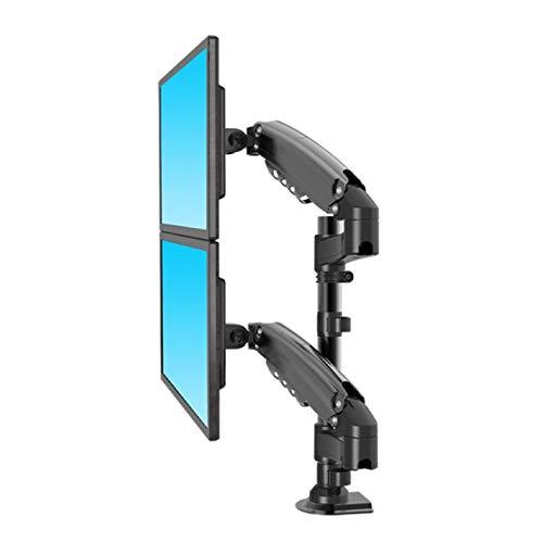 sunyu Soporte Monitor Doble para 17'-27' Monitor Diseño Ergonómico VESA 100/75mm