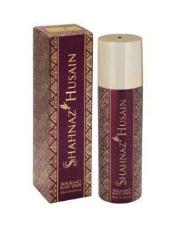 Glamorous Hub Shahnaz Husain desodorante en spray corporal con fragancia púrpura premium para mujer, 130 ml