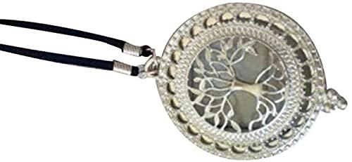 GXFJKHGHHG Lupa para Collar Lupa Monóculo Lente Collar de Lupa Lupa portátil Portátil 10X Lupa Collar Colgante Hombre Viejo Lente de Bolsillo Lentes de Vidrio HD Estudiante (Color:Silver)