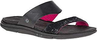 Hush Puppies Flip Flop Slipper For Women - Black and Red