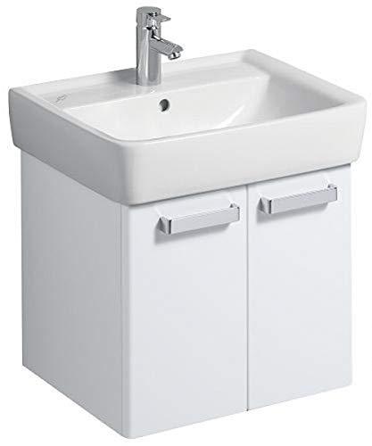 Keramag Waschbeckenunterschrank Renova Nr.1 Plan, 879060 53x44,5cm x46,3cm Weiß Hochglanz 879060000