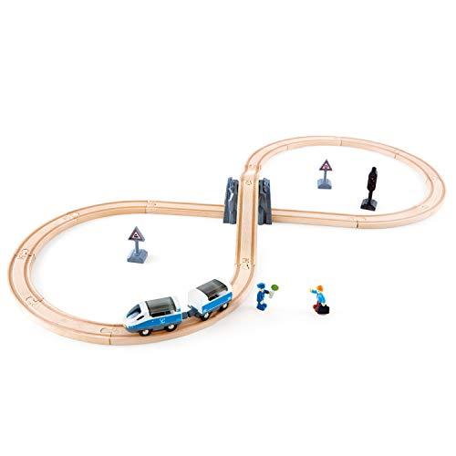 HAPE - E3729 - Circuit de Train en Bois - Circuit en 8
