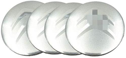 Citroen DS3 DS4 DS6 C2 C3 C4 C4l C5 saxofón Xsara Picasso Elysee Berlingo cubierta de cubo de cactus, pegatina con el logotipo del neumático del coche, pegatina de la cubierta del centro de la rueda
