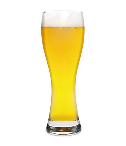 Bierkrug Glas, Bierglas 0.5 Liter Bierkrug Ohne Henkel, Hochwertige Qualität Borosilikatglas Stölzle Oberglas Für Oktoberfest, Geburtstage, Hochzeiten, Geschenke
