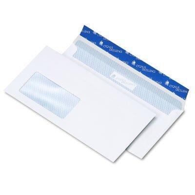 50 Stk. Cygnus Briefumschläge DIN C6/5 (DIN lang plus) hochweiß mit Fenster haftklebend (114 x 229 mm)