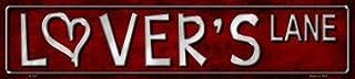 Smart Blonde Lovers Lane Metal Novelty Street Sign K-431