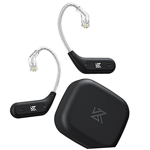 H HILABEE Gancho para La Oreja HD HiFi Bluetooth 5.2 Compatible con Auriculares con Clavija de 0,75/0,78 Mm para KZ-ZSX/ZSN/ASX / ZS10 Pro / DQ6 / ZSN Pro