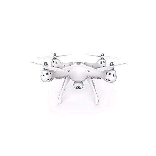 Syma X8PRO GPS FPV Quadcopter with 720p HD Wi-Fi Camera & Remote Control, White