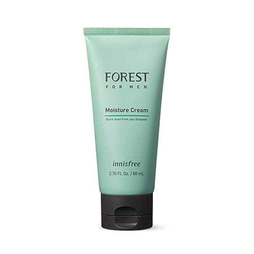仕立て屋ラッカス底[イニスフリー]フォレストフォアマンモイスチャークリーム80mL(2019.05新製品)/ Forest for Men Moisture Cream
