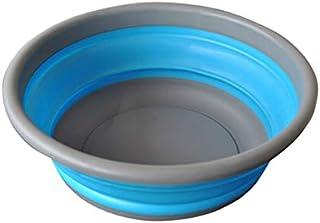 Suppyfly Bassine à vaisselle ronde pliable multifonction pour voyage, camping, randonnée