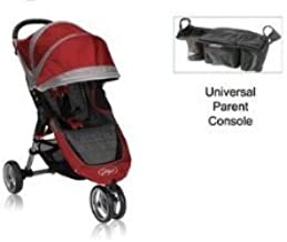 Baby Jogger City Mini Stroller WITH Parent Console (Crimson/Gray)