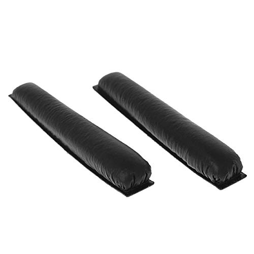 Soft Leather Replacement Headband Pad Sponge for Sennheiser PX80 PX100 PX100ii PX200 PC36 PMX100 PMX200 PXC300 PXC250 Headphones,Black
